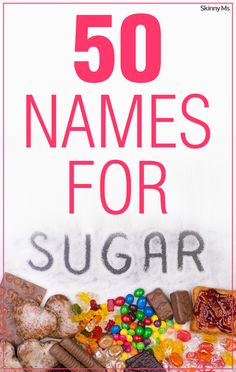 Manufacturers often attempt to disguise sugar by simply adding a sugar by anothe… Manufacturers often attempt to disguise sugar by simply adding a sugar by another name. Check out these 50 Names for Sugar to look for when reading ingredient labels. Sugar Detox Cleanse, Body Cleanse Diet, Juice Cleanse, Other Names For Sugar, Get Healthy, Healthy Eating, Clean Eating, Healthy Facts, No Sugar Challenge