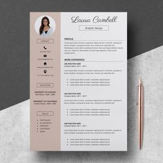 Modern Resume Template CV Template for MS Word Professional Resume Design Res If you like this design. Check others on my CV template board :) Thanks for sharing!Modern Resume Template CV Template for MS Word Professional Resume Design Res Template Cv, Modern Resume Template, Cover Letter Template, Letter Templates, Resume Templates, Resume Cv, Resume Tips, Resume Writing, Resume Examples