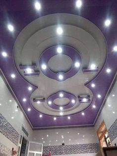 """If we think of the ceilings in our homes, so often the first thing that comes to mind is """"white, bland and boring."""" We make so much effort with the rest Simple False Ceiling Design, House Ceiling Design, Ceiling Design Living Room, Living Room Designs, Gypsum Design, Light Pink Bedrooms, 3d Model Architecture, Gypsum Ceiling, Modern Ceiling"""