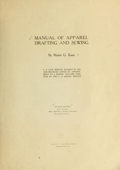 manual of apparel drafting and sewing. 1902. useful diagrams for basic skirt, coat, princess dress.