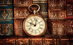 Buy Vintage pocket watch still life by cookelma on PhotoDune. Vintage Antique pocket watch on the background of old books Old Pocket Watches, Old Watches, Pocket Watch Antique, Vintage Watches, Old Clocks, Antique Clocks, Antique Art, Vintage Antiques, Antique Background