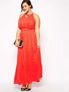 Stand out in a fun, bright maxi.