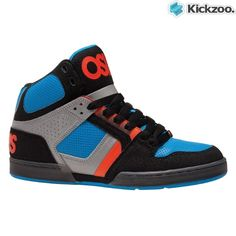 Osiris NYC 83 Summer 2012 in a black AST orange. Great colours on this updated shoe. Head on down to the park and be the stand out kid in the crowd.