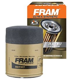 FRAM XG7317 Ultra Synthetic Spin-On Oil Filter with Sure Grip Oil Filter, Filters, Look Good Feel Good, Spin, Car, Automobile, Autos, Cars