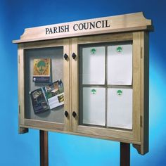 Outdoor Wooden Notice Boards, Village Signs, Manufacturers, Yorkshire, UK