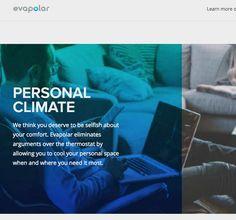Evapolar - First personal portable Air Cooler