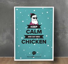 Keep calm and eat BBQ chicken - Quote From Recite.com #RECITE #QUOTE