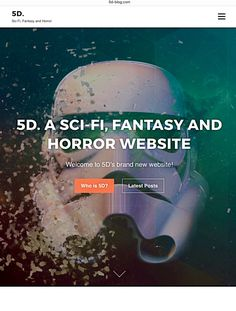 A bit of 5D History 5D started as a simple little blog back in 2012. It began as some half-hearted musings of the often maligned genres of science fiction, fantasy and horror, all of which have formed the bedrock of my film & literature obsession. In all truth at the...