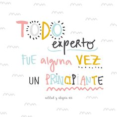 Inspirational Phrases, Motivational Phrases, Positive Phrases, Positive Quotes, The Words, Positive Mind, Positive Vibes, Spanish Quotes, Quotations