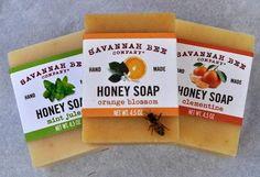 Handmade honey soaps from Savannah Bee Company!, $6.00
