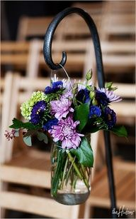 hanging bouquets