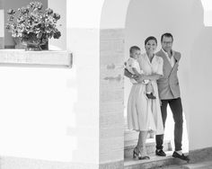 Princess Victoria Photos Photos - Image has been converted to black and white) Prince Daniel of Sweden, Crown Princess Victoria of Sweden with Prince Oscar of Sweden are seen meeting the people gathered in front of Solliden Palace to celebrate the 40th birthday of Crown Princess Victoria of Sweden on July 15, 2017 in Borgholm, Sweden - Crown Princess Victoria of Sweden 40th Birthday Celebrations in Solliden