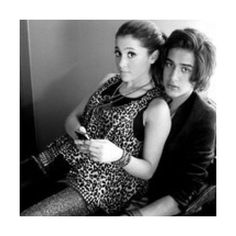ariana grande & avan jogia icon / made by lori ❤ liked on Polyvore