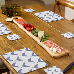 Ash Wood Antipasti and Tapas Board #dinnerparties #tableware #artisan