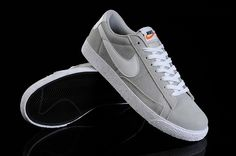sports shoes c690e 63a5b Nike Blazer Low Vintage sneakers for men gray white HOT SALE! HOT PRICE!  Gris. Gris BlancBasket HommeNike ...