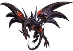 """""""Red-Eyes"""" (レッドアイズ Reddoaizu) is an archetype of Dragon-Type monsters used most notably by Joey Wheeler in Yu-Gi-Oh! and Atticus Rhodes in Yu-Gi-Oh! GX. The archetype is based mainly on supporting the original member, """"Red-Eyes B. Dragon"""" (often given as """"Red-Eyes Black Dragon""""), who, according to the anime, was created to rival the strength of """"Blue-Eyes White Dragon"""". The first Yu-Gi-Oh! movie stated that while """"Blue-Eyes"""" brings power, """"Red-Eyes"""" brings potential."""