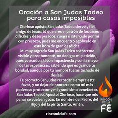 Descubre la oración a San Judas Tadeo para casos imposibles. Consigue las peticiones para protegerte y que se cumplan tus deseos gracias a San Judas.