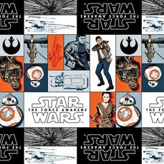 Rebels,+Star+Wars+7+The+Force+Awakens+by+Camelot+Cottons+at+Creative+Quilt+Kits