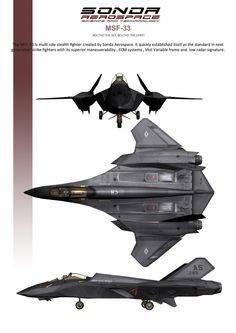MSF-33 Multirole Stealth Fighter