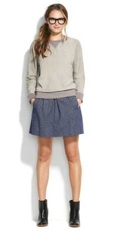 Madewell skirt. please and thank you.