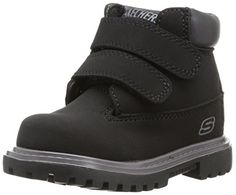 277faa40e88a love those Skechers Kids 93159N Mecca - Sawmill Classic Velcro Boot  (Toddler Little Kid