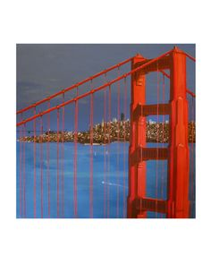 When the Fog is Gone San Francisco Golden Gate by ArtCalifornia, $20.00