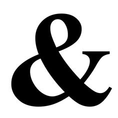 Among other things, his use of ampersand offers a subtle recurring disruption or inclusion of a non-word symbol throughout the volume.
