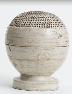 // White Porcelain Incense Burner 10th - 13th Century. Mt. Mitoku Sanbutsu ji Temple, Japan