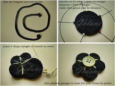 fleur en tricotin - Happiness le blog by Gédane