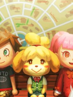 Tumblr Process Video Isabelle and Villagers [Mario Kart 8] ---Mario Kart x The Legend of Zelda I forbid reposting my art without the source.