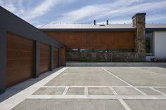 Grey Houses, Contemporary Architecture, Garage, Homes, Outdoor Decor, Modern, Home Decor, Carport Garage, Gray Houses