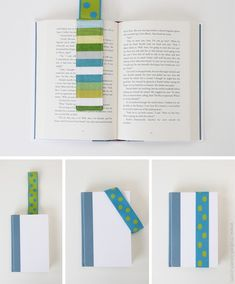 35 Easy DIY Gift Ideas That People Actually Want ~ Stay-put elastic bookmarks!