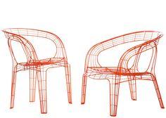 pamela wire chair by dem bitantes - IFFS singapore 2013