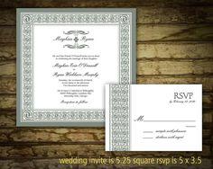 Celtic Irish Wedding Printable Wedding by NotedOccasions on Etsy, $22.00