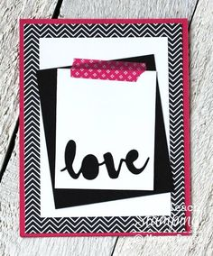 Card Making Ideas  Punch Art   Paper Craft   Crafts with Scrap Paper   Use the negative space from a die cut or punch to create a gorgeous handmade greeting card