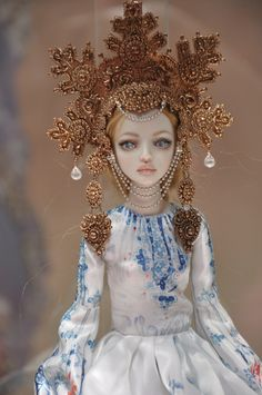 Enchanted Dolls by Marina Bychkova photographed by Elena at the Exhibition DOLL TIME № 7 in St. Petersburg.