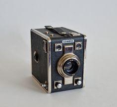 Mid-Century Vintage Gevabox Gevaert 120 Film Box Camera made in Germany by vtgwoo on Etsy