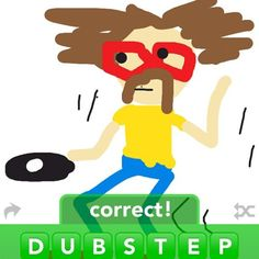 i so want to draw a dubstepping hipster!