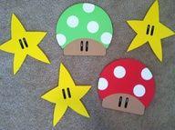 Super Mario Dorm Decoration Idea