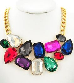 UnikLook Jewelry - Chunky color pop Necklace, $9.90 (http://uniklook.com/chunky-color-pop-necklace/)
