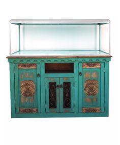 Couture aquarium stand