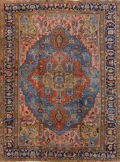 Persian Heriz rug, Matt Camron gallery