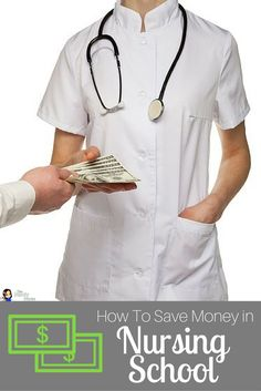 How To Save Money in Nursing School - From textbooks to sack lunches, there are so many ways you can save money in nursing school. | The Nerdy Nurse