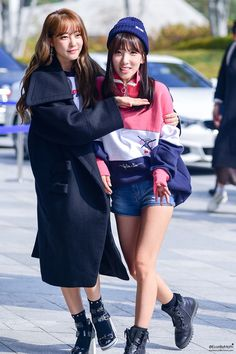 Woori and Jisook