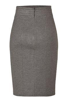 HUGO  Medium Grey Ramika Skirt