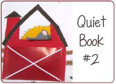 Quiet Book #2. #PeekabooPages