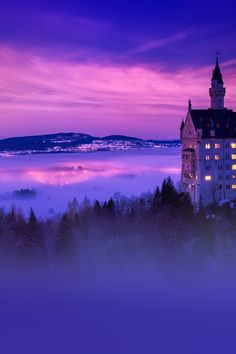 Blue Dusk, Neuschwanstein Castle, Germany