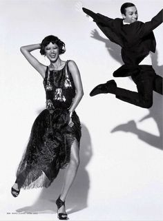 """""""Puttin' On the Ritz"""": Selena Khan Goes Flapper by Txema Yeste for US Marie Claire"""