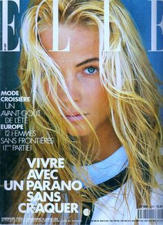 Rachel Williams - Elle France, 1989