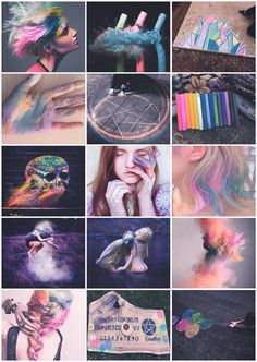 Chalk Witch aesthetic